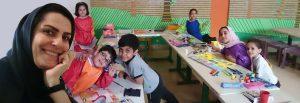 آموزش نقاشی کودکان در کلاس های گروهی به صورت تصویری و مستند