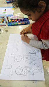 نوشتن کودکان با نقاشی کردن آغاز میشود