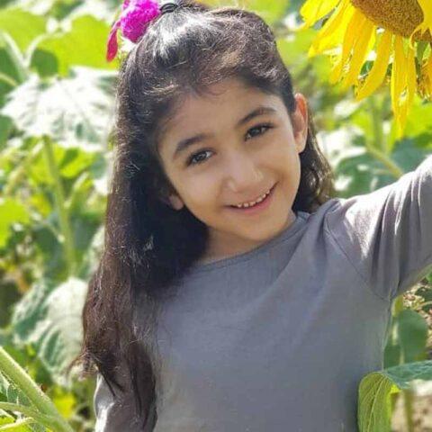 آوا سلطان محمد هنرجوی نقاشی فاطمه لطیفی ۸ ساله از تهران