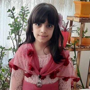 تروسکه بهمنی هنرجوی نقاشی فاطمه لطیفی ۱۰ ساله از سنندج