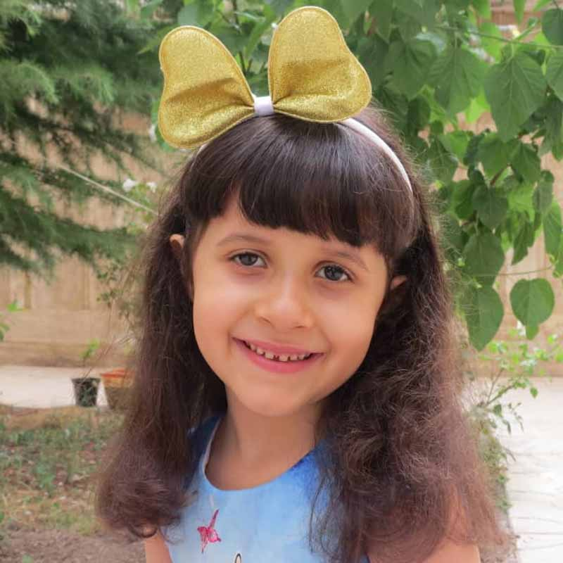 ستاره شفیعیان هنرجوی نقاشی فاطمه لطیفی ۶ ساله از تهران