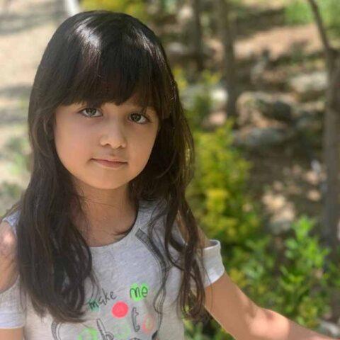 نیکا باجلان هنرجوی نقاشی فاطمه لطیفی ۷ ساله از تهران