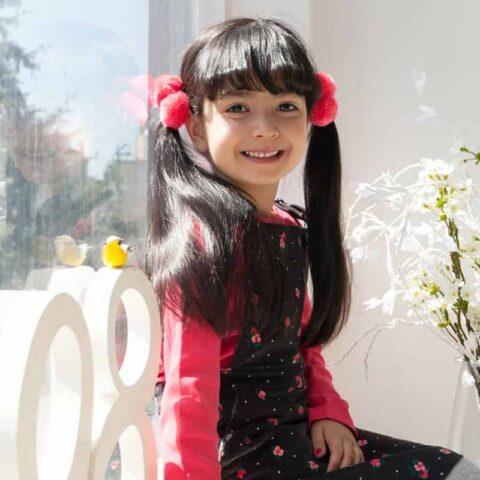 یاسمین هاشمی هنرجوی نقاشی فاطمه لطیفی ۸ ساله از تهران